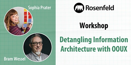 UX Workshop: Detangling Information Architecture with Object-Oriented UX tickets