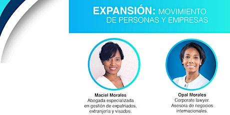 Expansión, movimiento de personas y empresas biglietti