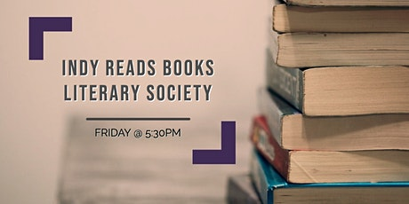 "Literary Society with Indy Reads Books: ""Underground Railroad"" tickets"