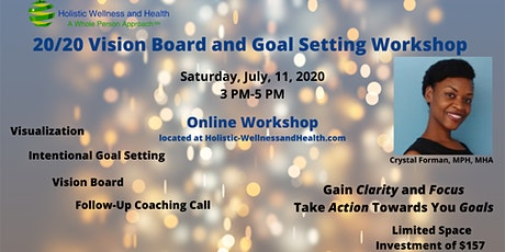 20/20 Vision Board and Goal Setting Workshop with Coaching tickets
