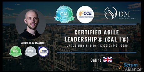 Certified Agile Leadership® (CAL I®) tickets