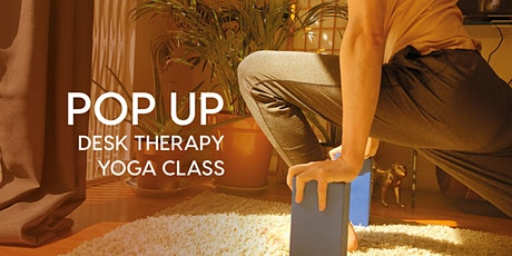 POP UP Desk Therapy Yoga Class tickets