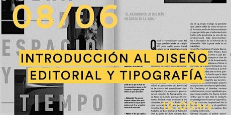Clase de muestra - Introducción al diseño editorial y tipografía entradas