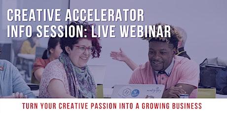 2020 Velocity Creative Accelerator Info Session tickets
