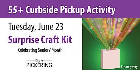 City of Pickering 55+ Curb Side Pick-up tickets
