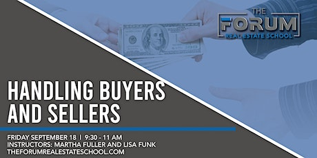 Handling Buyers and Sellers tickets