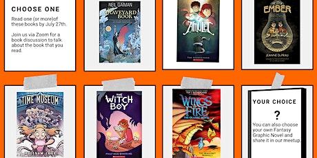 Grades 6-8 Graphic Novel Virtual Meetup tickets