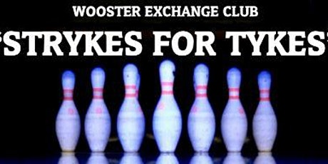 STRYKES FOR TYKES - Bowling Fundraiser for Wayne Co. Child Advocacy Center tickets