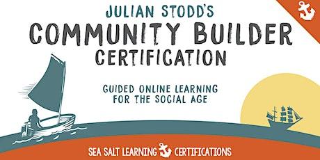 Community Builder Certification tickets