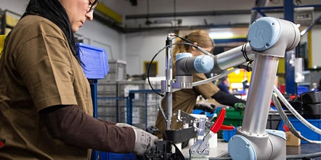 Affordable and Approachable Automation for Metal Fabricators: Cobots tickets