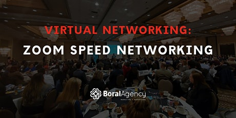Virtual Networking: Zoom Speed Networking tickets