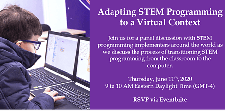 Global STEM Toolkit: Adapting STEM Programming to a Virtual Context Webinar tickets
