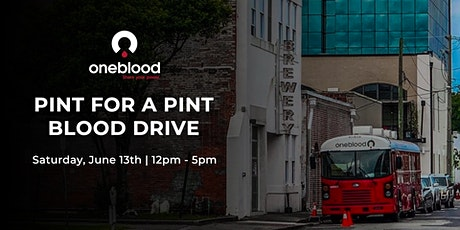 Pint for a Pint Blood Drive tickets