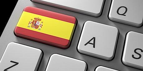 Online Beginners Spanish Class [4 weeks - 12 classes] tickets