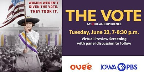 The Vote on American Experience Virtual Screening tickets
