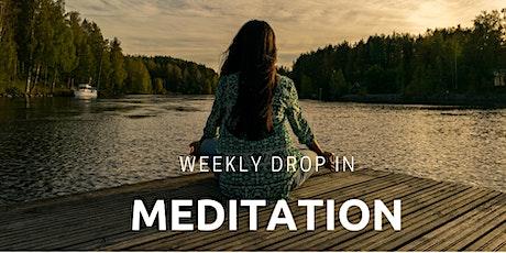 ONLINE Weekly Meditation tickets