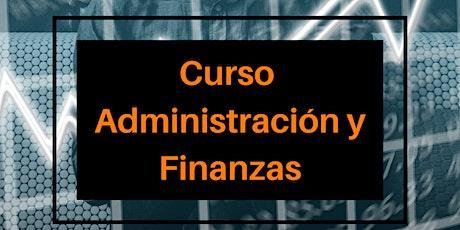 Curso Administración y Finanzas PYMES boletos