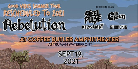 Good Vibes Summer Tour 2021: Rebelution & Special Guests tickets