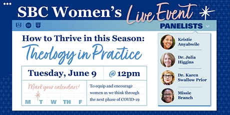 How to Thrive in This Season: Theology in Practice tickets