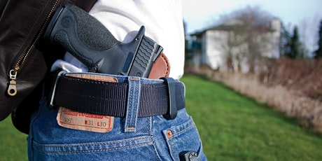 NC Concealed Carry Handgun Course tickets