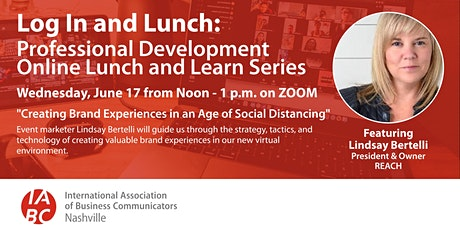 Log In and Lunch: Creating Brand Experiences in an Age of Social Distancing tickets