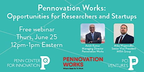 Pennovation Works: Opportunities for Researchers and Startups tickets