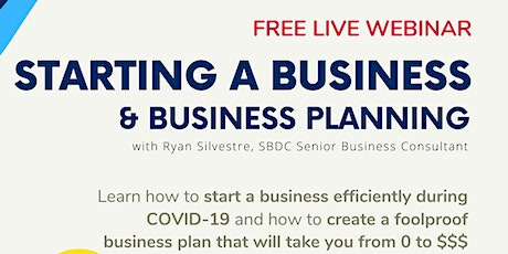 Starting a Business & Business Planning tickets