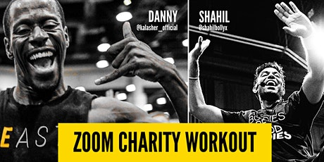 Zoom Charity Workout with Danny and Shahil! tickets