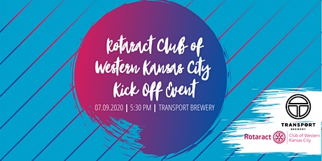Rotaract Club of Western Kansas City Kick Off Event at Transport Brewery tickets