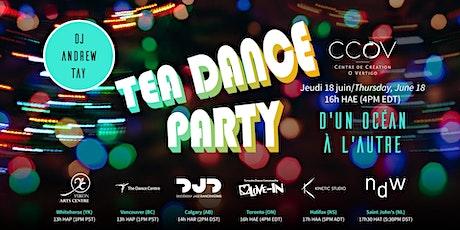 Tea Dance Party - D'un océan à l'autre tickets