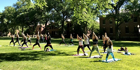 The Women of Silver & Blue present: Yoga on the Quad tickets
