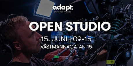 Open Studio - Adapt tickets