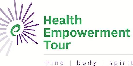 Health Empowerment Tour Summer Webcast Series tickets