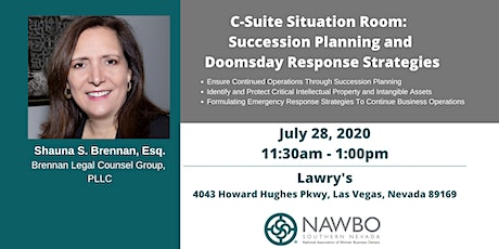 NAWBO Southern Nevada Presents: C-Suite Situation Room: Succession and Doomsday Response Strategies tickets
