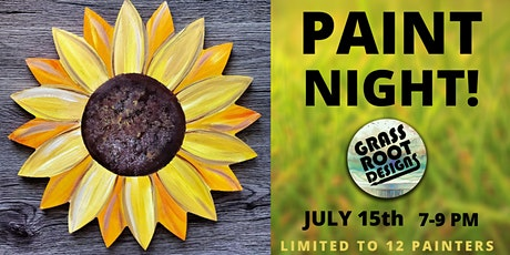 Sunflower Paint Night at Red Lantern! tickets