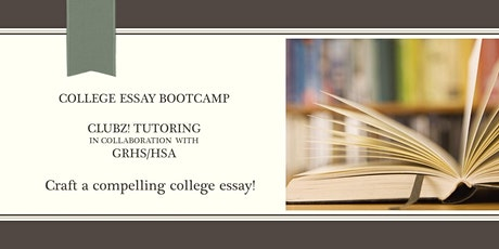 Rising Seniors: College Essay Boot Camp with Kathleen Walter (Session 5) tickets