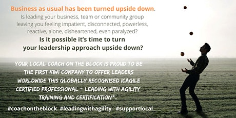 ICAgile Certified Professional - Leading with Agility Certification tickets