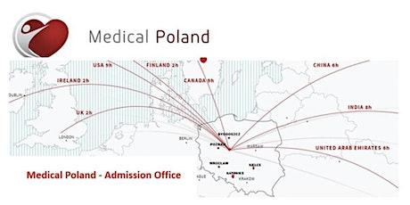 OPEN DAY -Medical Poland- Study Medicine and Veterinary - Summer 2020 bilhetes