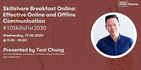 Skillshare Breakfast: Effective Online and Offline Communication tickets