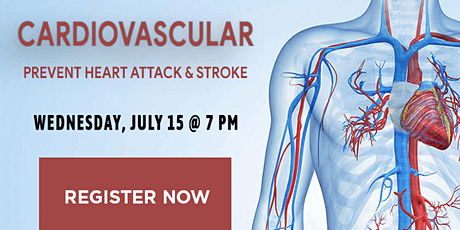 WEBINAR: Cardiovascular, Prevent Heart Attack & Stroke tickets