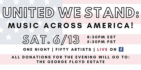 United We Stand: Music Across America [Virtual Benefit Concert] tickets
