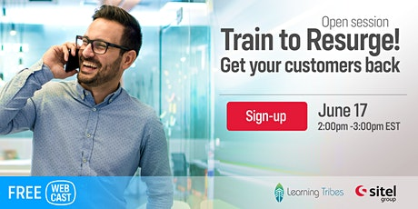 Train to Resurge-Get your customers back! tickets