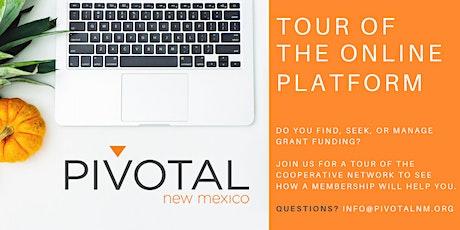 Tour of the Online Platform tickets