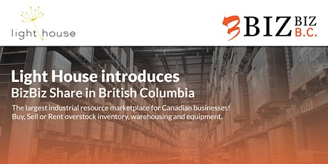 Light House introduces Canada's largest business resource marketplace in BC tickets