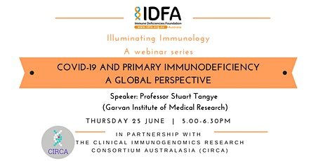 COVID-19 and Primary Immunodeficiencies - A Global Perpective tickets