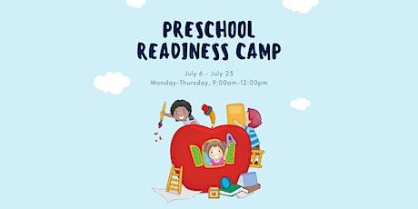 Preschool Readiness Camp 2020 tickets