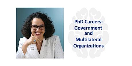 PhD Careers in Government and Multilateral Organizations biglietti