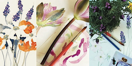 Painting Flowers Watercolour Workshop tickets