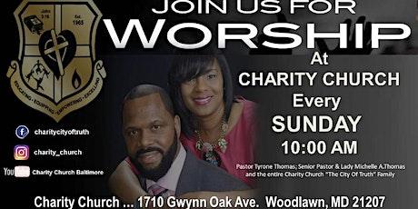 Charity Church tickets