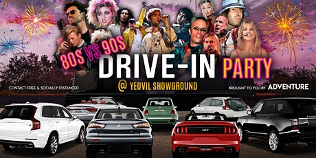 80s vs 90s Drive-In Party at Yeovil Showground tickets